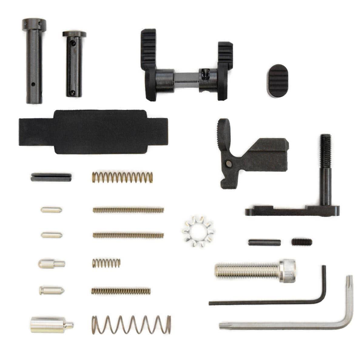 Lower Parts Kit less Trigger Group & Grip for .223/5.56